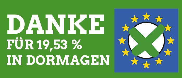 Europawahl_DANKE_Dormagen