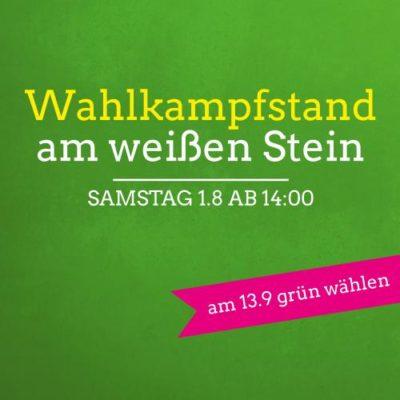 Wahlkampfstand Stürzelberg/St. Peter @ Am weißen Stein